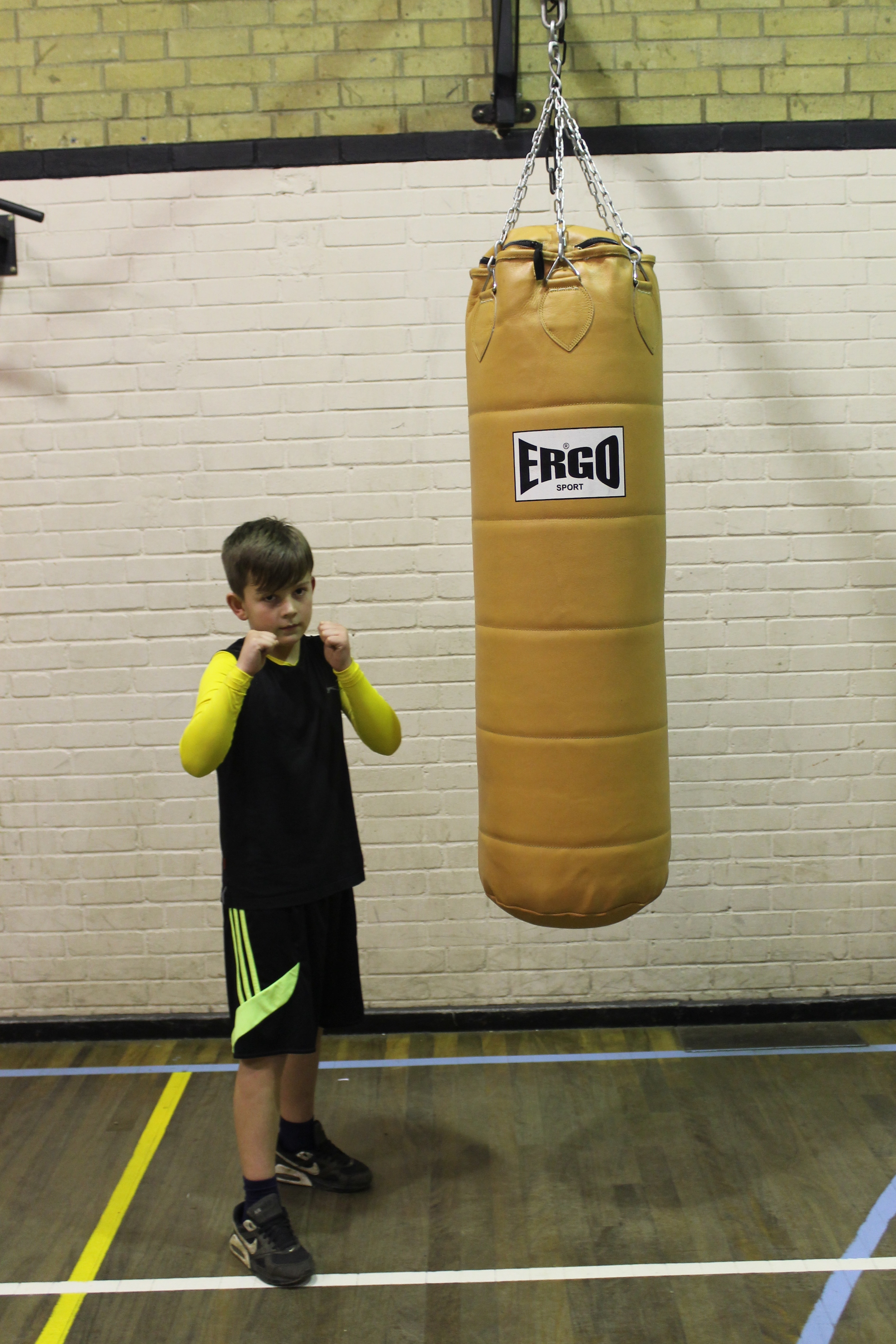 Ivor Price - Junior Boxer @ Blackbird Leys Amateur Boxing Club Oxford
