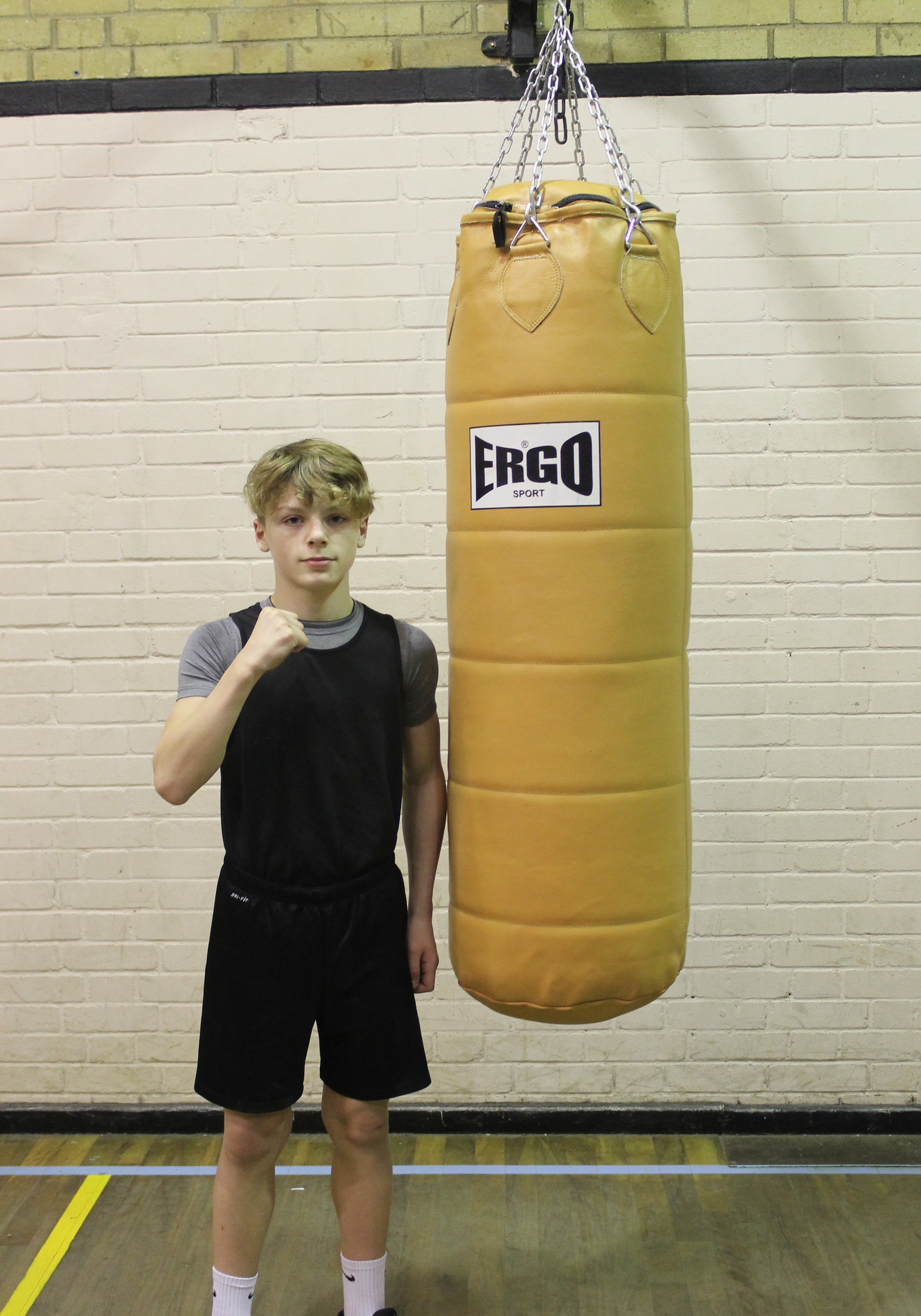 Ajay Desmond-Stockford - Junior Boxer @ Blackbird Leys Boxing Club Oxford
