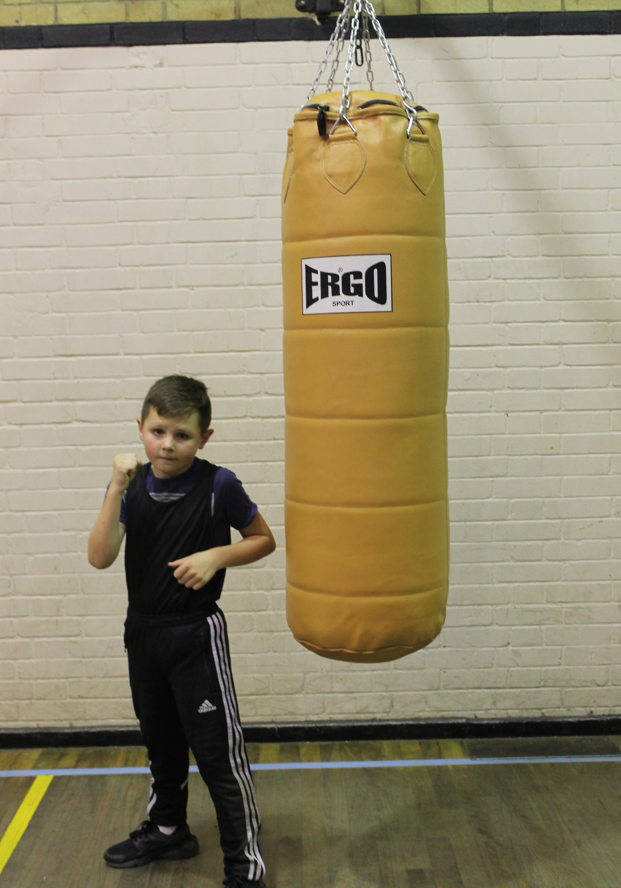 Finley Haynes - Junior Boxer @ Blackbird Leys Amateur Boxing Club Oxford