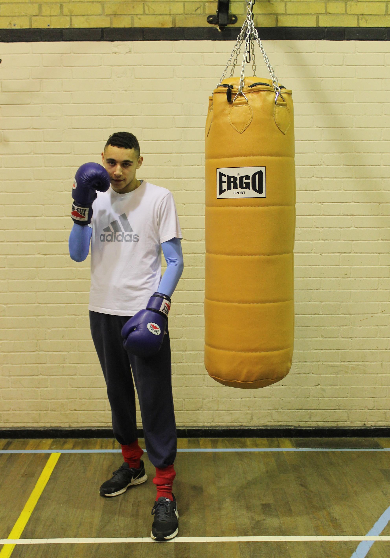Brent Dalton - Senior  Boxer @ Blackbird Leys Boxing Club Oxord