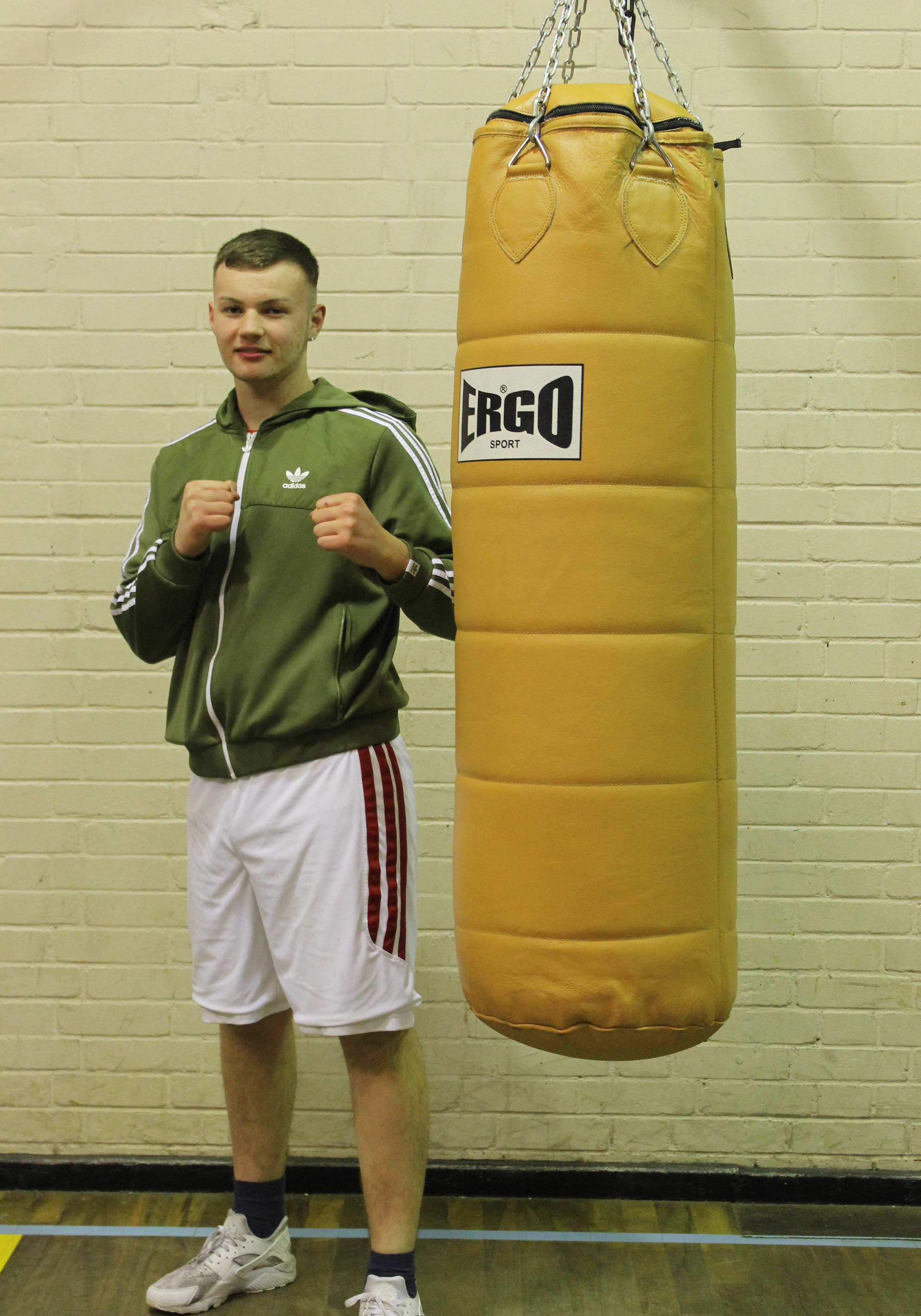 Wezley Bone - Junior Boxer @ Blackbird Leys Boxing Club Oxford
