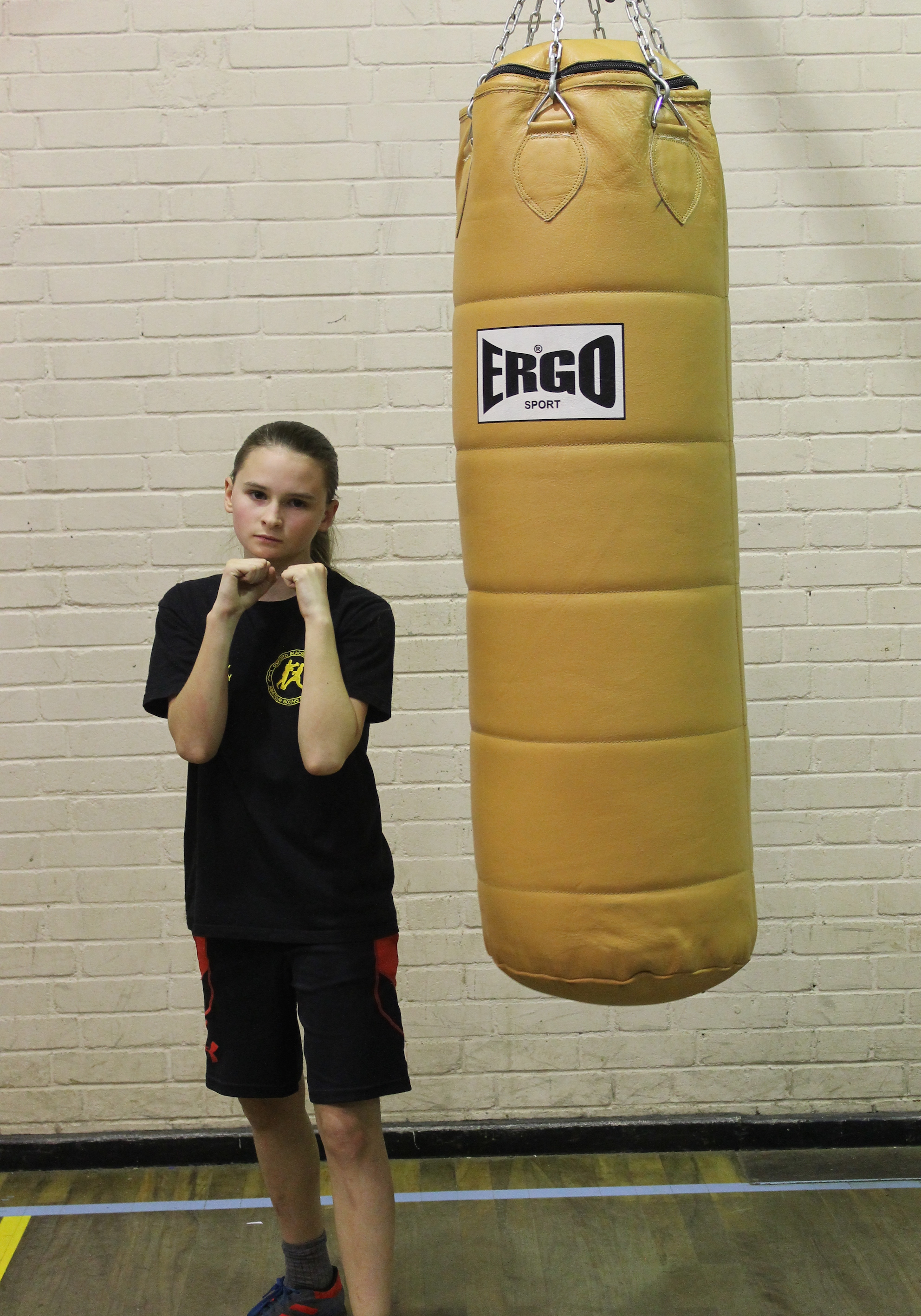 Emily Kenny - Junior Boxer @ Blackbird Leys Amatuer Boxing Club Oxford