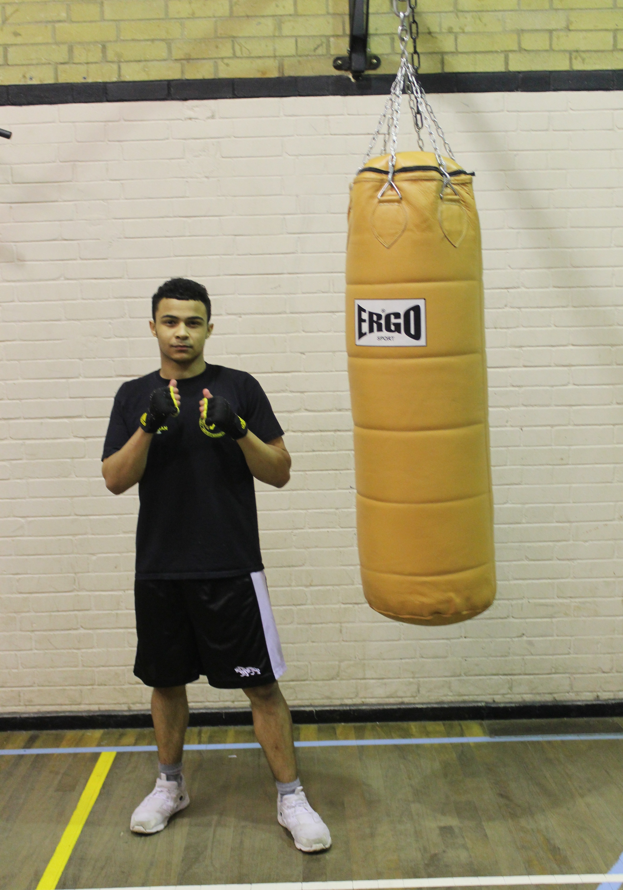 Daniel Robinson - Senior Boxer @ Blackbird Leys Amateur Boxing Club Oxford