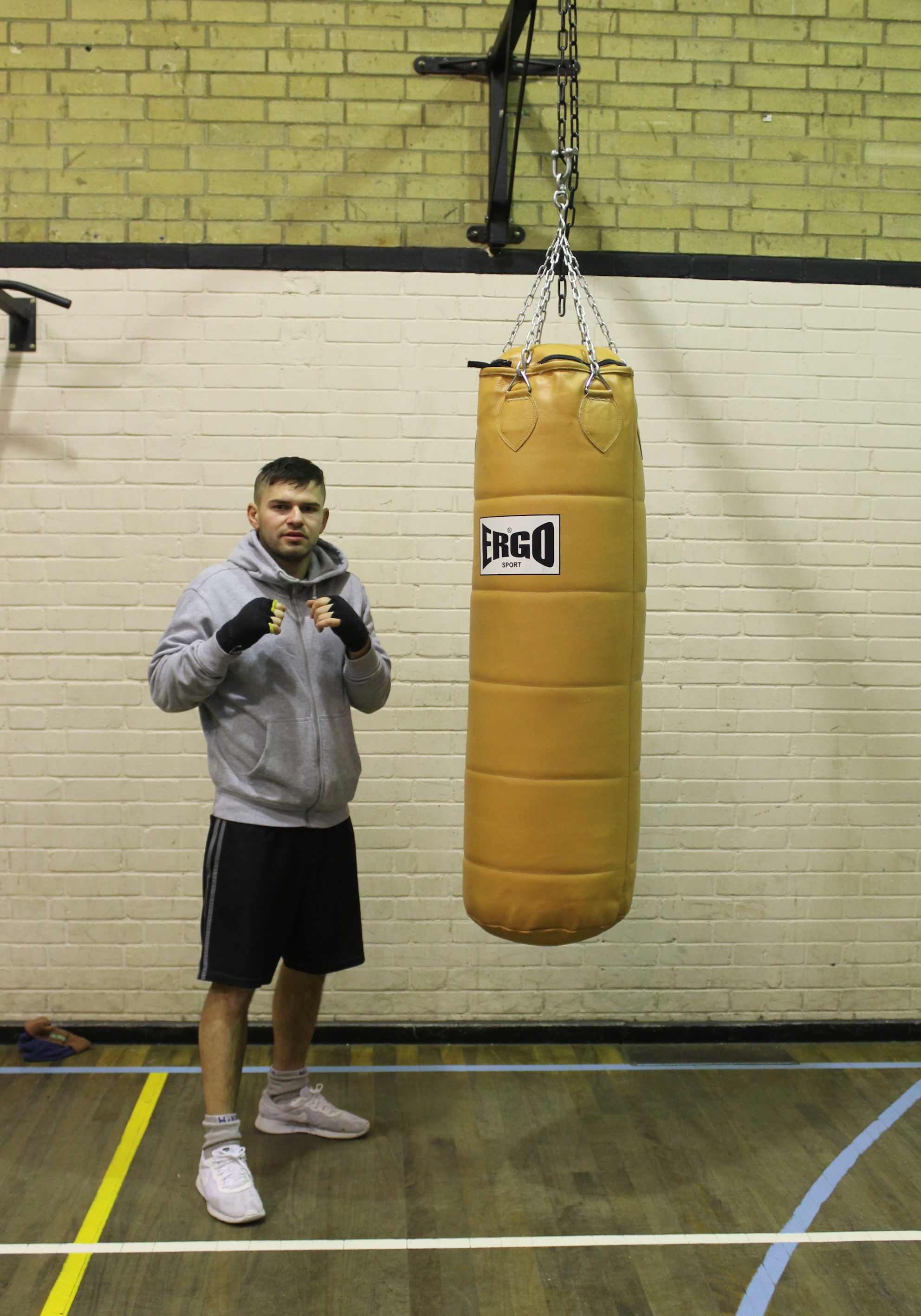 Dane Simmonds- Senior  Boxer @ Blackbird Leys Boxing Club Oxord