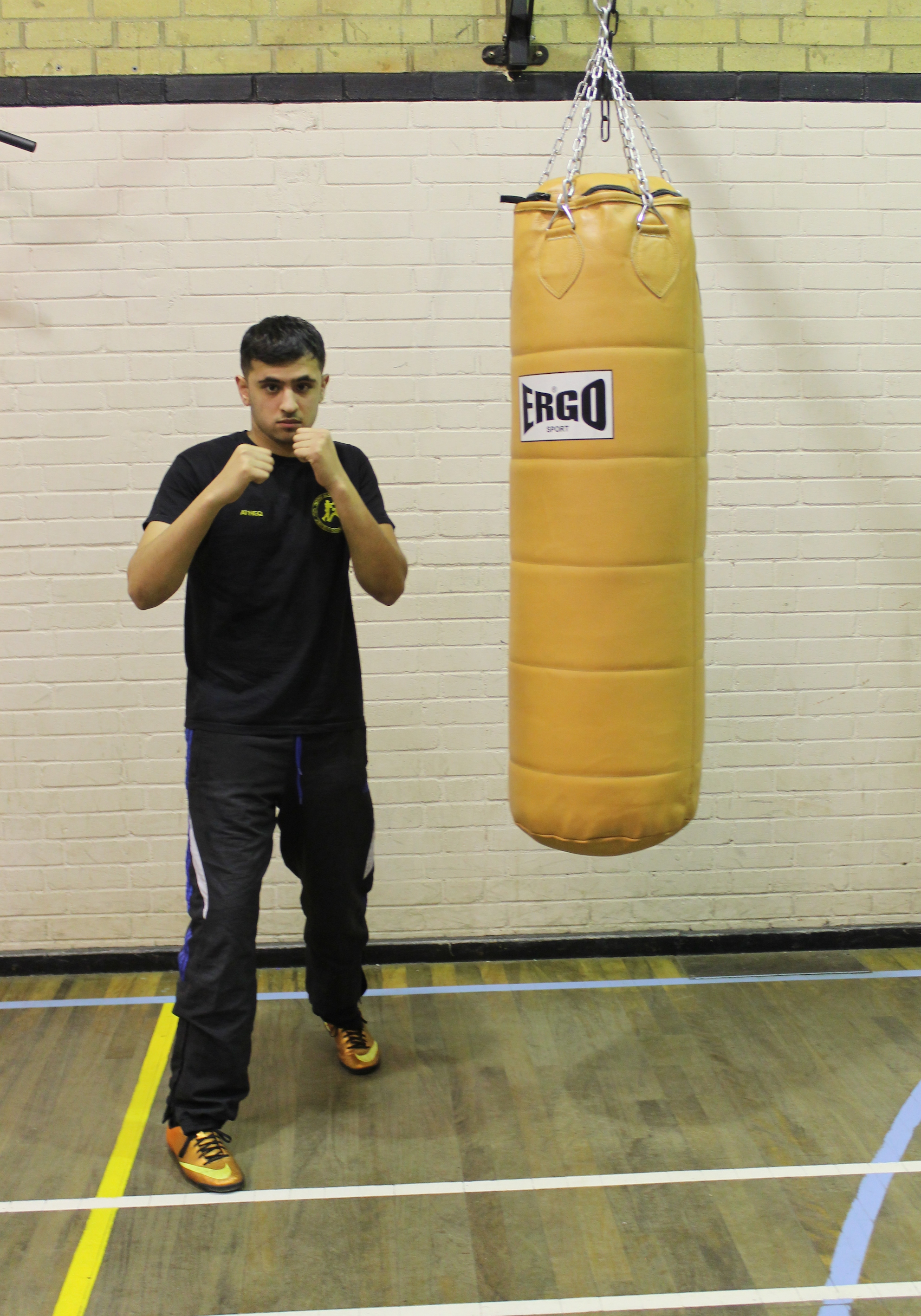 Atheq Ahmed - Youth Boxer @ Blackbird Leys Boxing Club Oxford