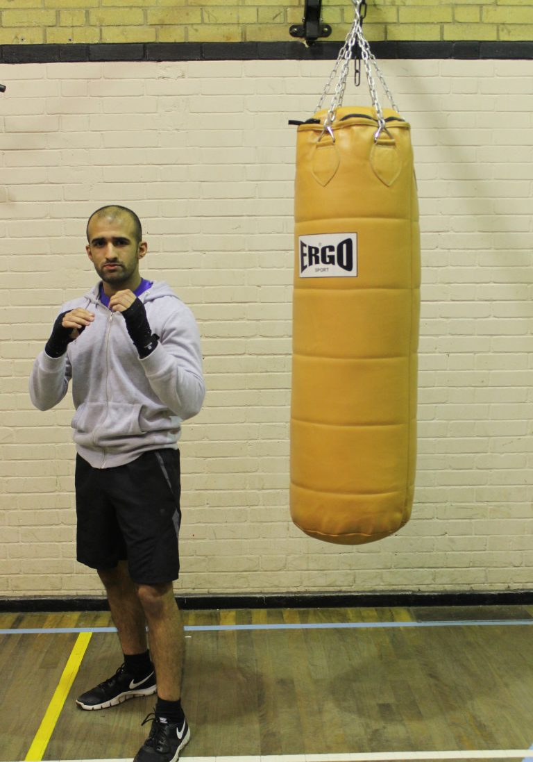 Zain Hussain - Senior Boxer @ Blackbird Leys Amateur Boxing Club Oxford