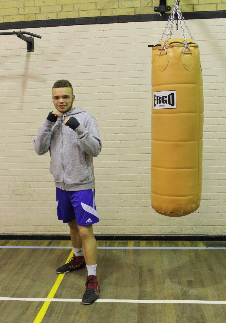 Keenan Dallimore - Senior Boxer @ Blackbird Leys Amateur Boxing Club Oxford