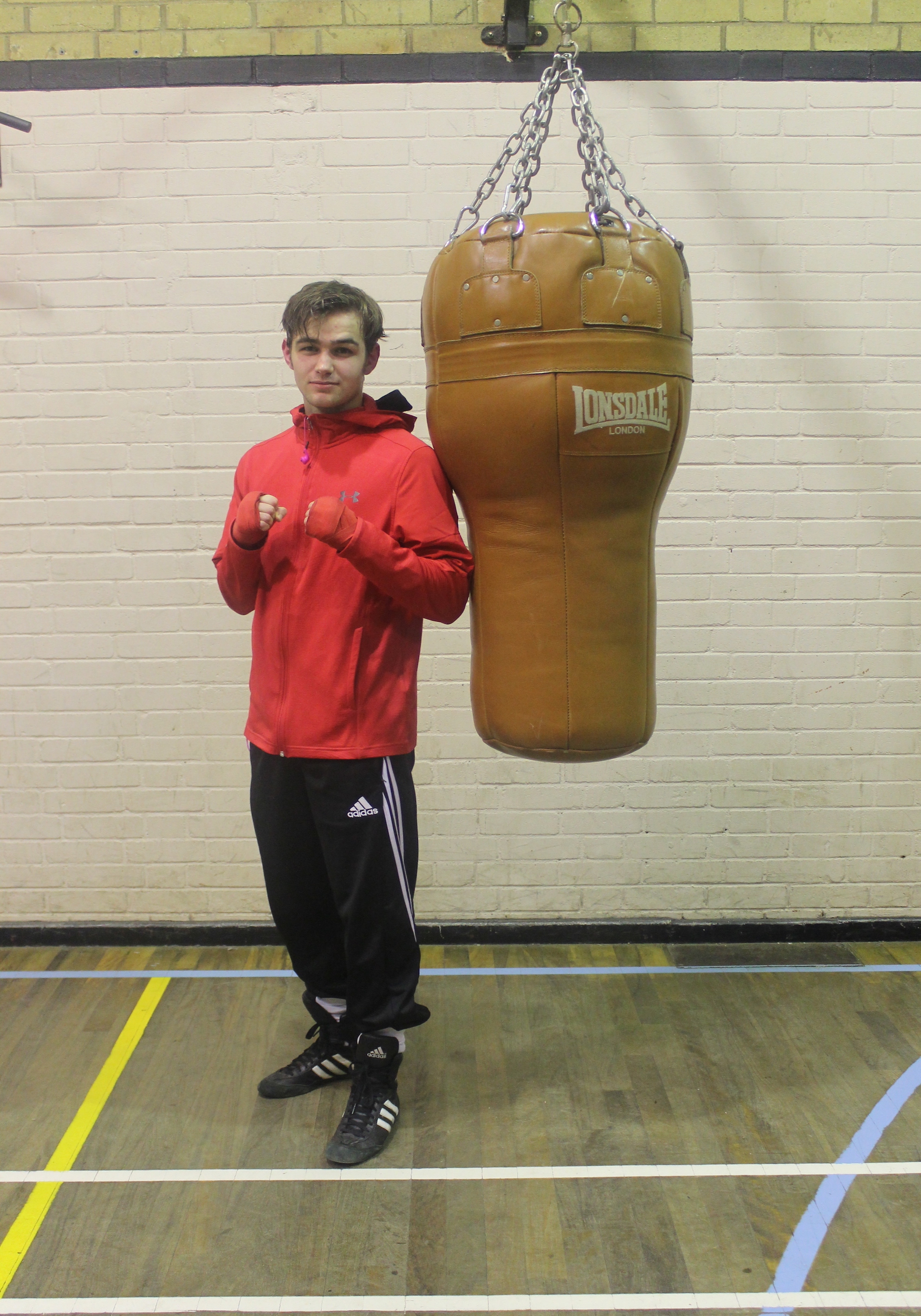 Les Hill - Senior Boxer  @ Blackbird Leys Amateur Boxing Club Oxford
