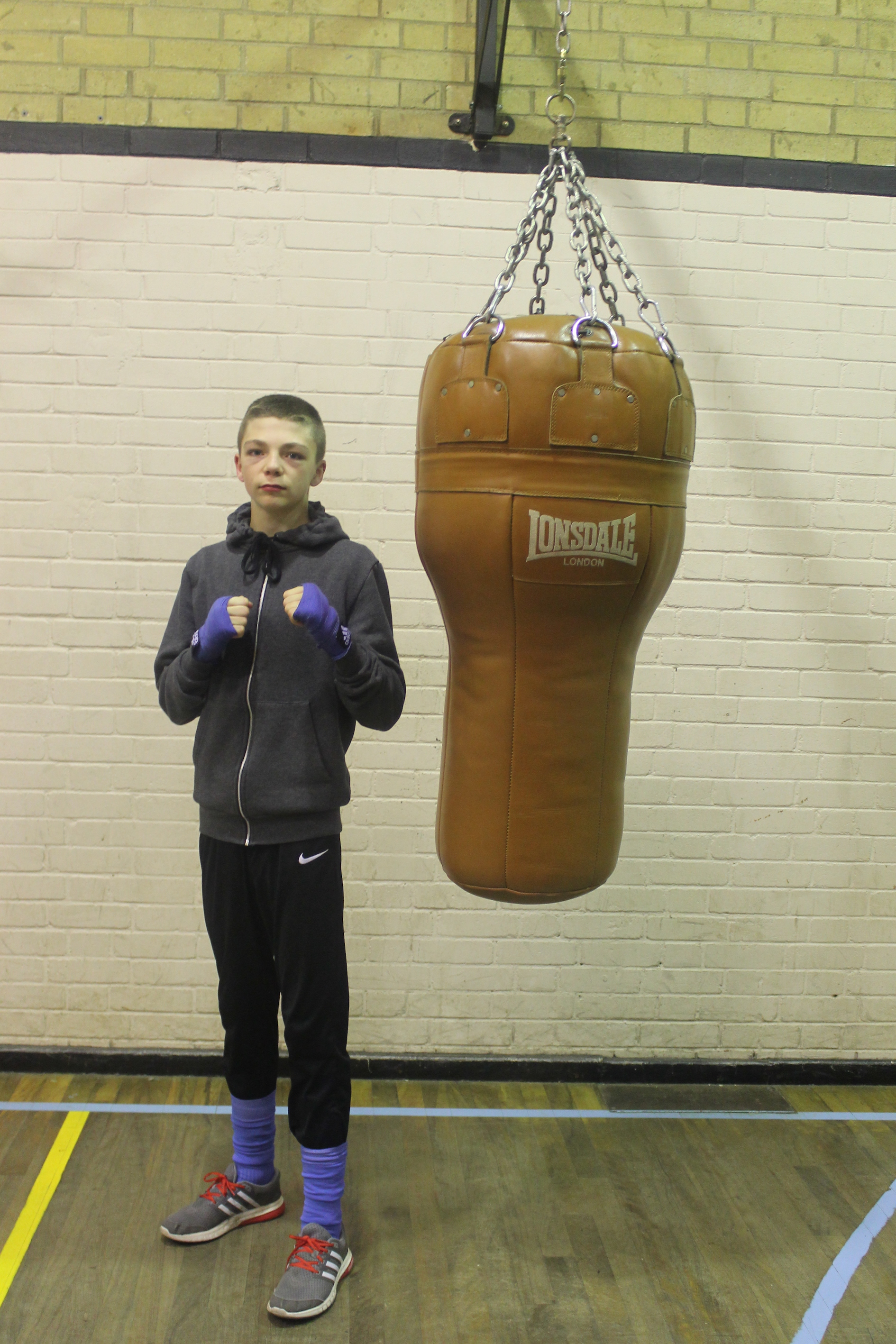 Joe Gaul - Junior Boxer @ Blackbird Leys Amateur Boxing Club Oxford