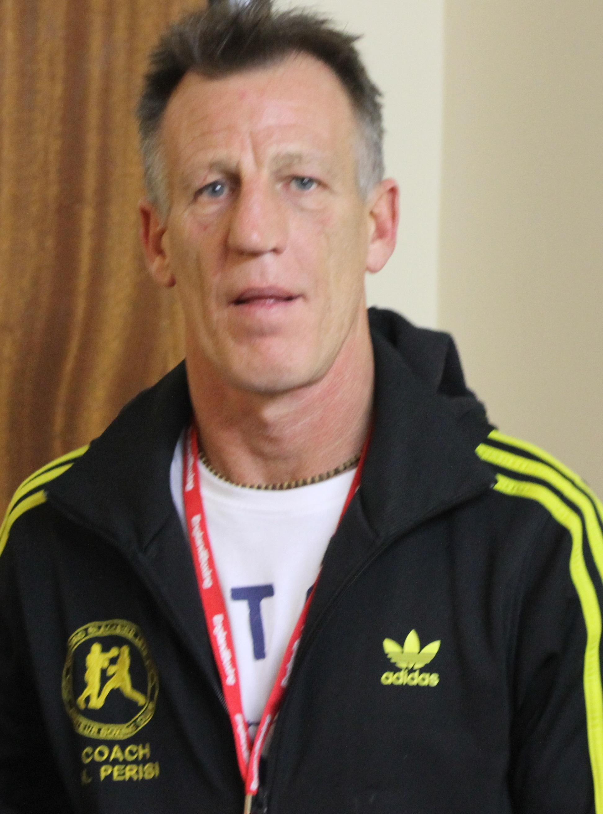 Keith Perisi blackbirdleys boxing club coach