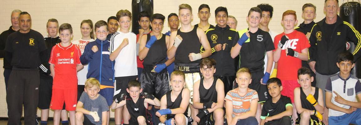 Boxing Club Training for Juniors & Seniors