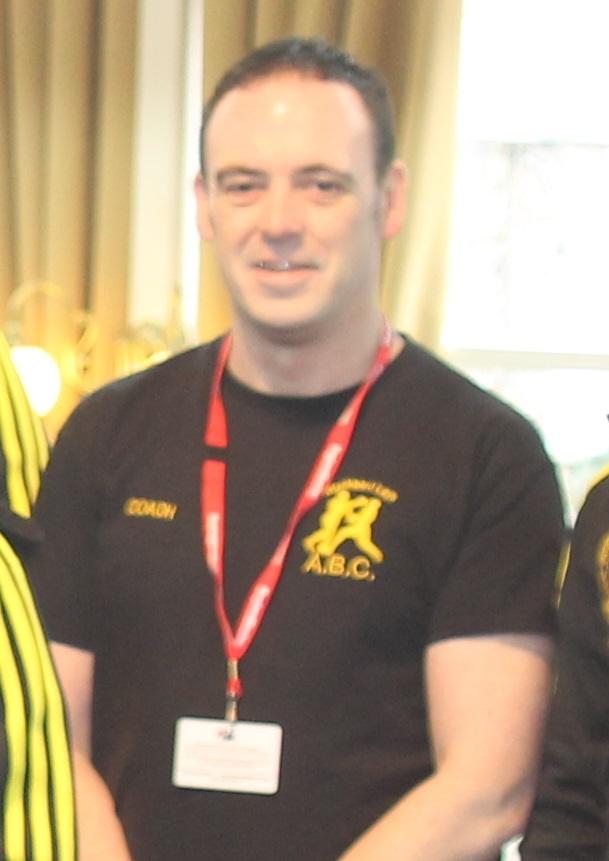 Steve Cameron  blackbirdleys boxing club coach