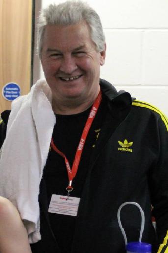 Tony Gibson blackbirdleys boxing club head coach